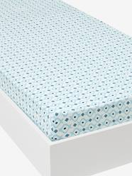 Furniture & Bedding-Child's Bedding-Fitted Sheets-Fitted Sheet, Brooklyn Skate Theme