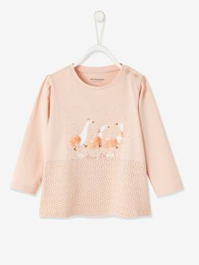 Click to view product details and reviews for Stylish Top For Baby Girls Blue Dark Solid With Design.