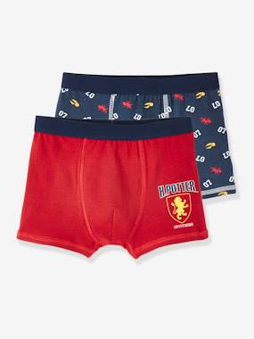 Click to view product details and reviews for Pack Of 2 Stretch Boxer Shorts For Boys Harry Potter® Red Medium 2 Color Multicol.