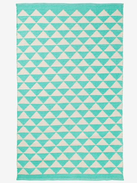 Outdoor Rug Green/beige