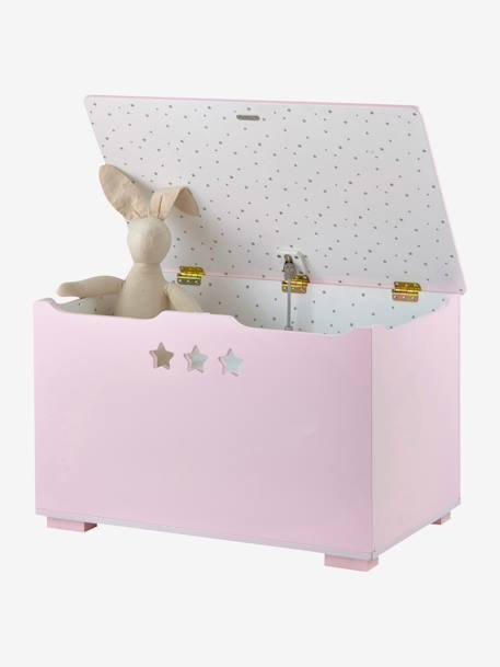 Storage Chest, Sirius Theme Grey+Pink+White