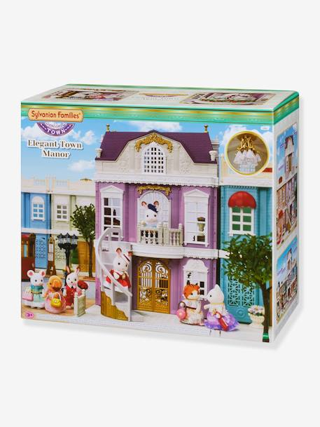 Large Town House - SYLVANIAN FAMILIES - beige medium solid