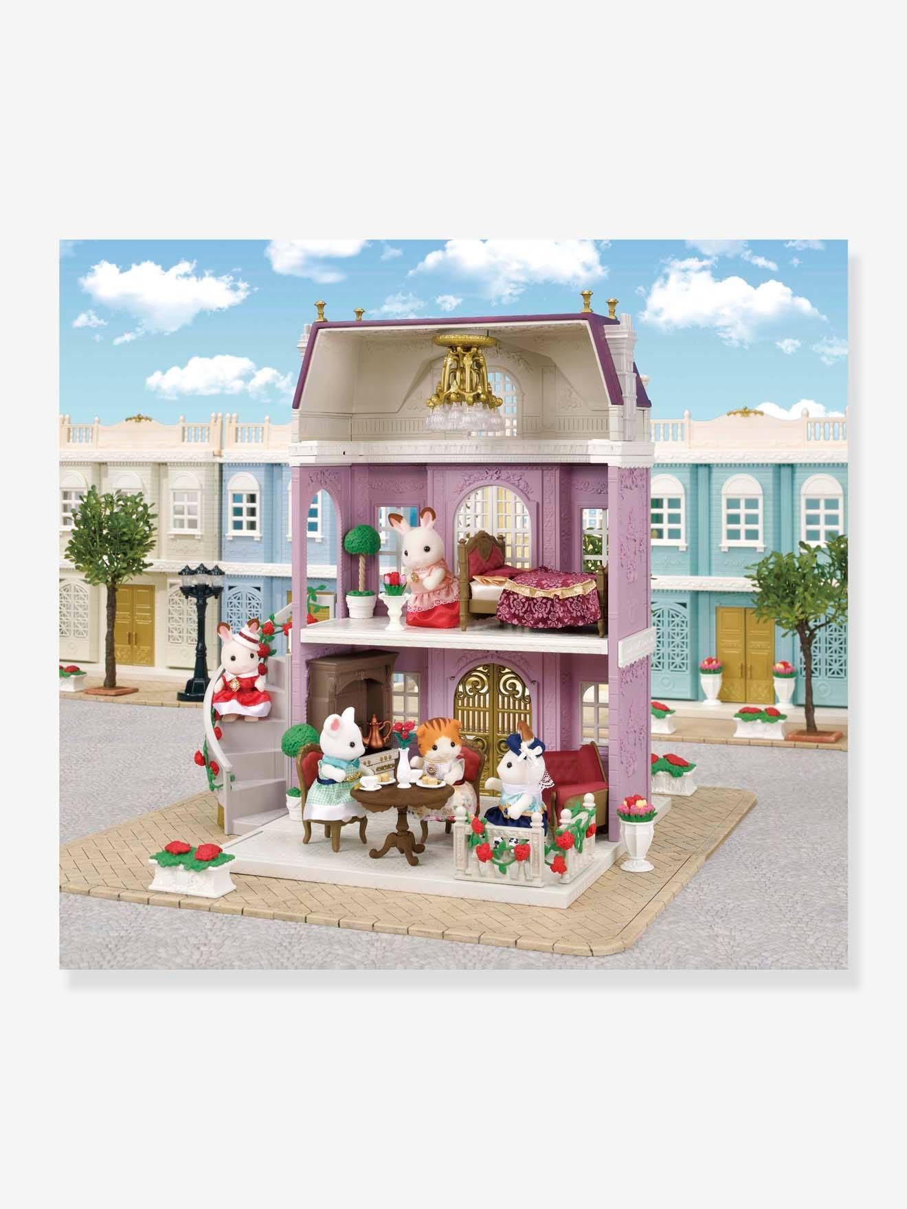 Large Town House Sylvanian Families Beige Medium Solid Toys Vertbaudet