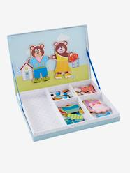 Toys-Puzzles & Games-Magnetic Dress-up Bear Game