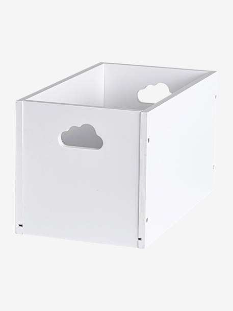 Small Storage Box White