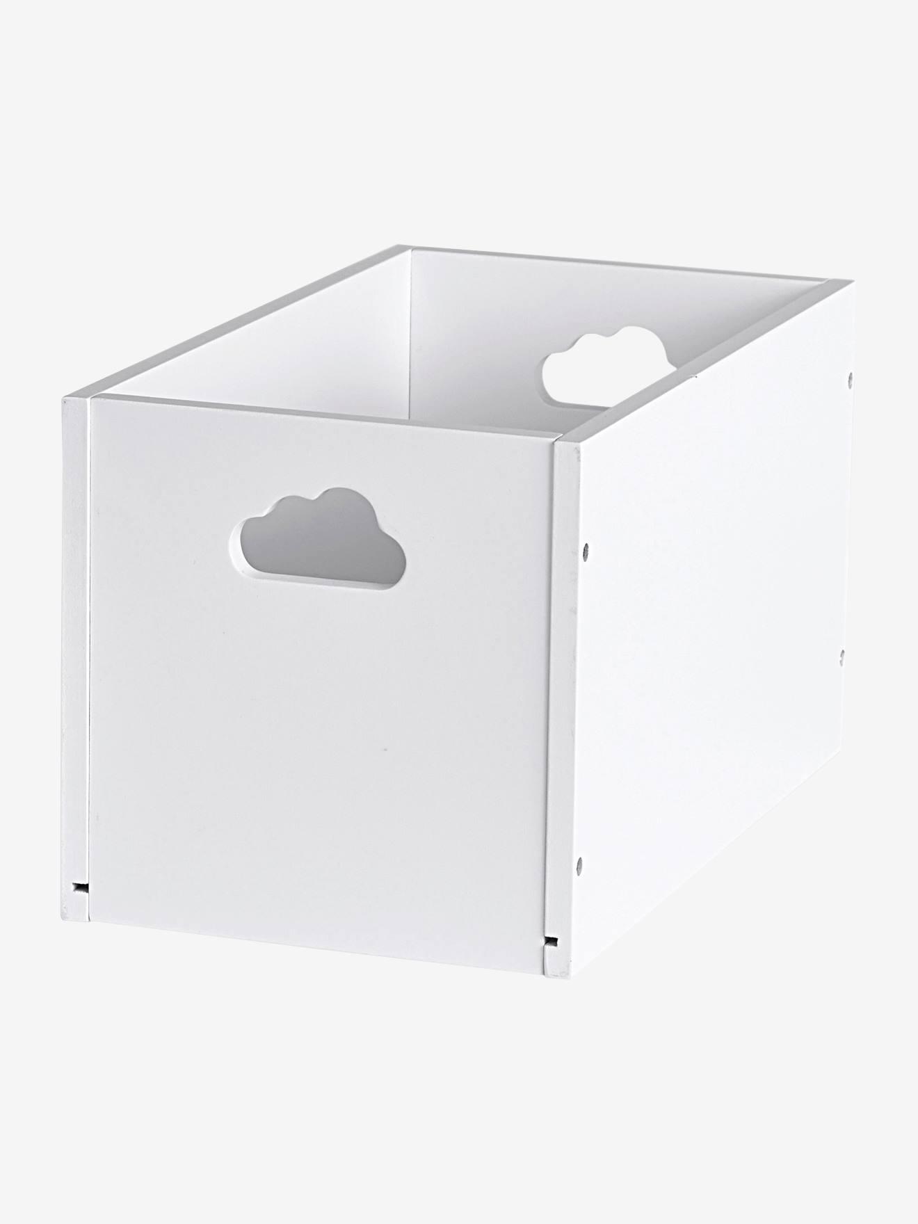 Small Storage Box White