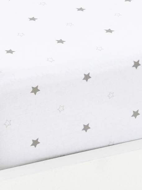 Fitted Sheet, Star Shower Theme BRIGHT STARS
