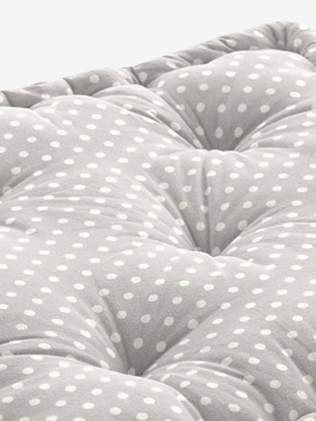 Pack of 2 Floor Cushions Light grey