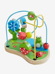 Toys-Baby's First Toys-Wooden Abacus, Garden Theme