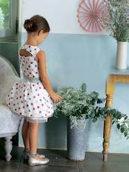Girls-Dresses-Girls Sleeveless Short Dress