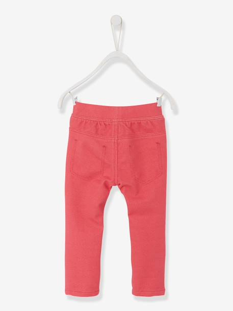 Baby Girls' Treggings BLUE MEDIUM SOLID+Denim brut+Grey+Pink+WHITE LIGHT ALL OVER PRINTED