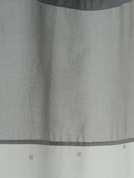 Star Curtain White/greige
