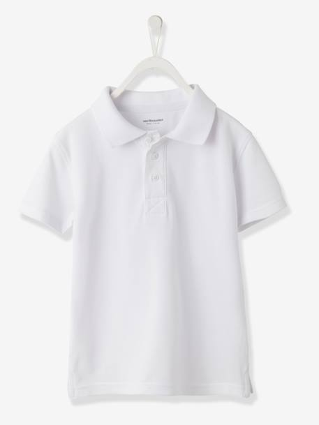Boys' Polo Shirt White