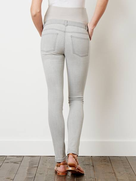 Maternity Slim Stretch Jeans - Inside Leg 30' Black+BLUE DARK WASCHED+BLUE LIGHT WASCHED+Grey+Light grey denim+Untreated