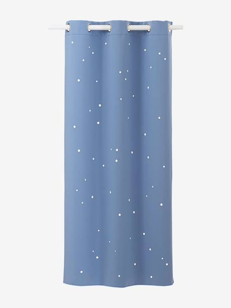 Star Blackout Curtain Blue+Blush+Greige+Grey