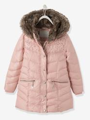 Girls-Coats & Jackets-Girls' Hooded Padded Jacket