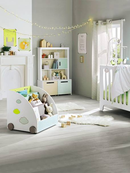 Baby Music Mobile White