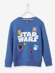Boys-Sweaters-Boys' Sweatshirt with Patches, Star Wars® Theme