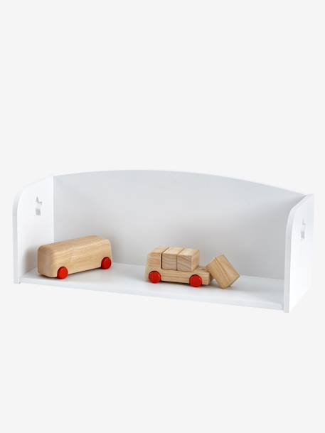 Sirius Wall Bookcase WHITE LIGHT SOLID