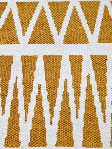 Graphic Rug YELLOW MEDIUM ALL OVER PRINTED