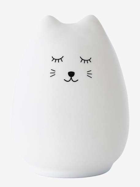 Cat Night Light WHITE LIGHT SOLID WITH DESIGN
