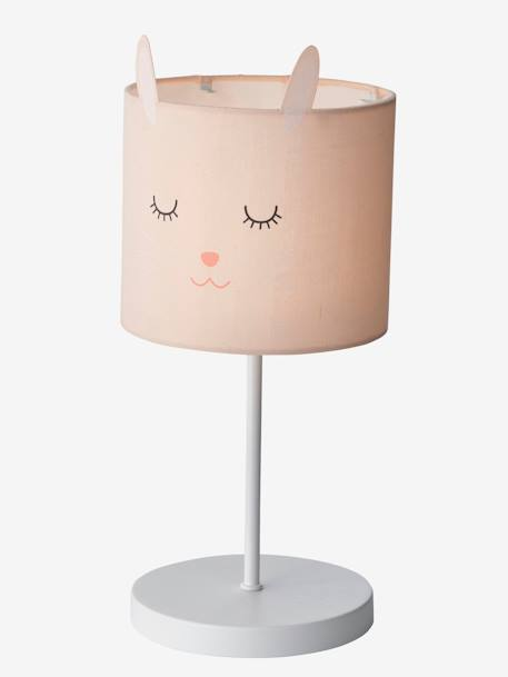 Bunny Bedside Table Lamp PINK LIGHT SOLID WITH DESIGN