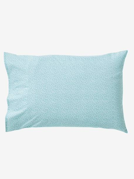 Pillowcase, Northern Dream Theme White/green