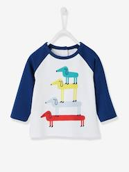 Baby-Baby Boys' Dog Print T-Shirt