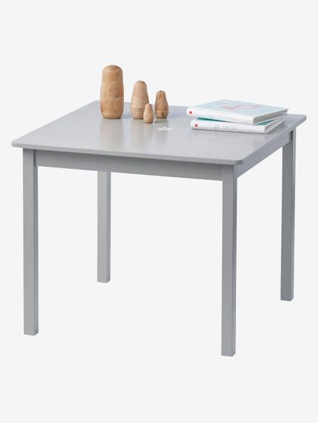 Sirius Childrens' Play Table GREY MEDIUM SOLID