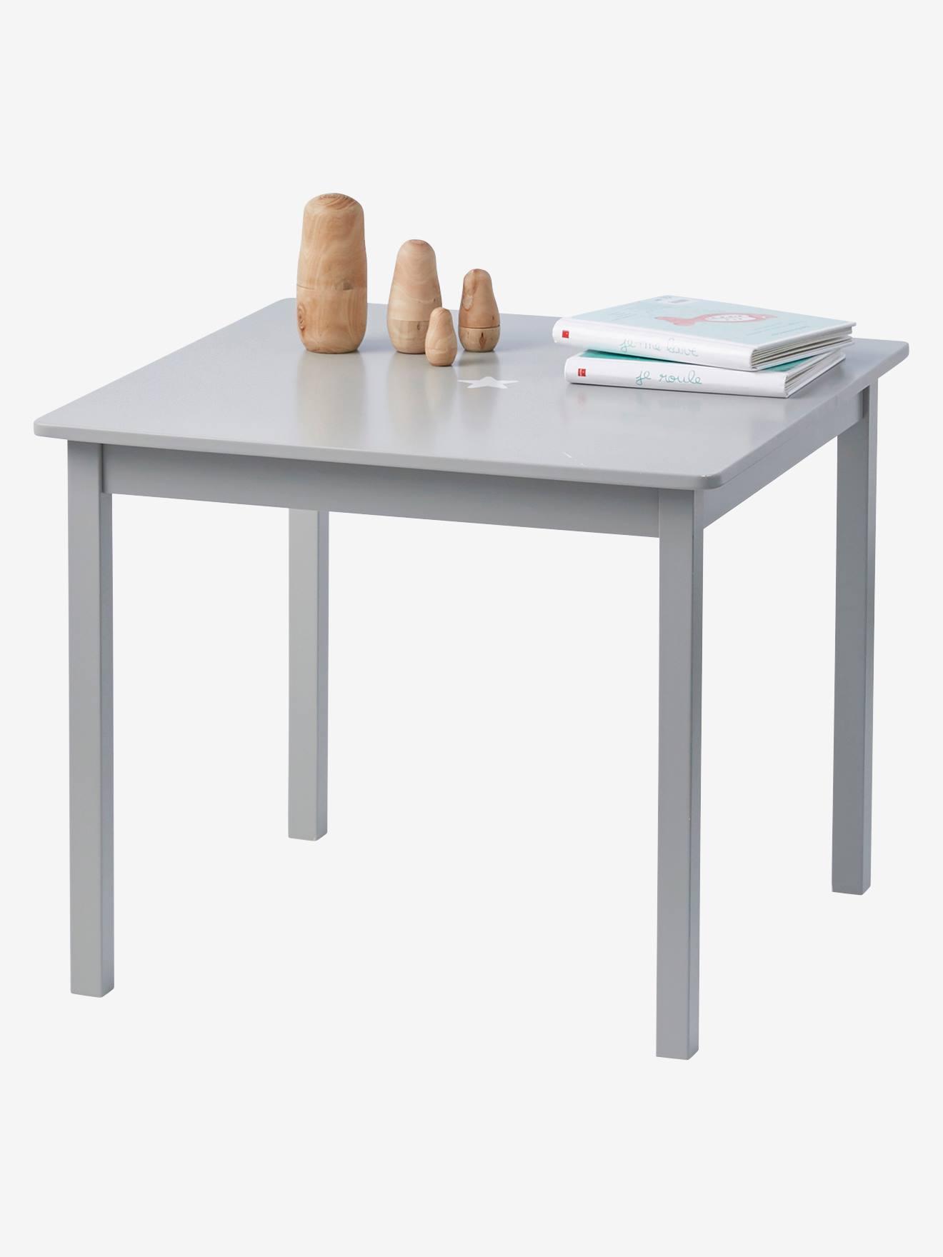 Ordinaire Sirius Childrensu0027 Play Table GREY MEDIUM SOLID+WHITE LIGHT SOLID