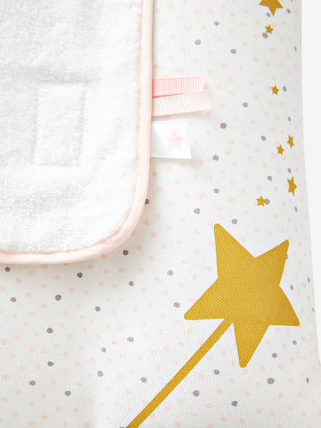 Changing Mat, Princess Bunny Theme PINK LIGHT ALL OVER PRINTED