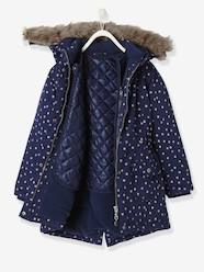 Girls-Coats & Jackets-Girls' 3-in-1 Parka with Polar Fleece Lining