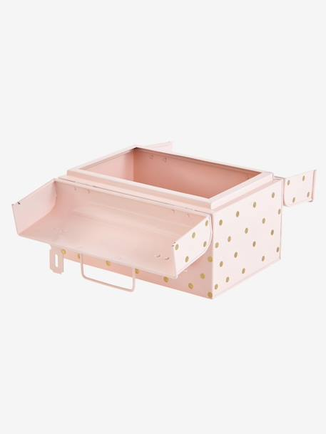 Metal Case PINK LIGHT SOLID WITH DESIGN