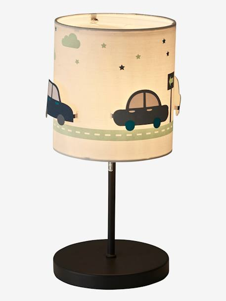 Car bedside table light storage decoration vertbaudet car bedside table light beige light solid with design mozeypictures Choice Image