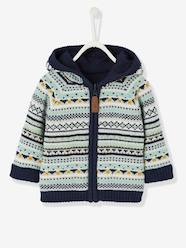 Baby Boys' Reversible Jacket with Hood