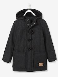 Boys-Boys' Duffle-Coat with Fleece Lining