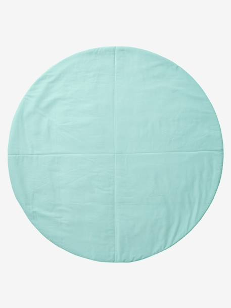 Round Mat for Teepee GREEN LIGHT ALL OVER PRINTED