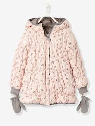 Girls' Reversible Padded Jacket