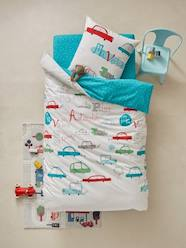 Furniture & Bedding-Child's Bedding-Duvet Cover & Pillowcase Set, Fun Cars Theme