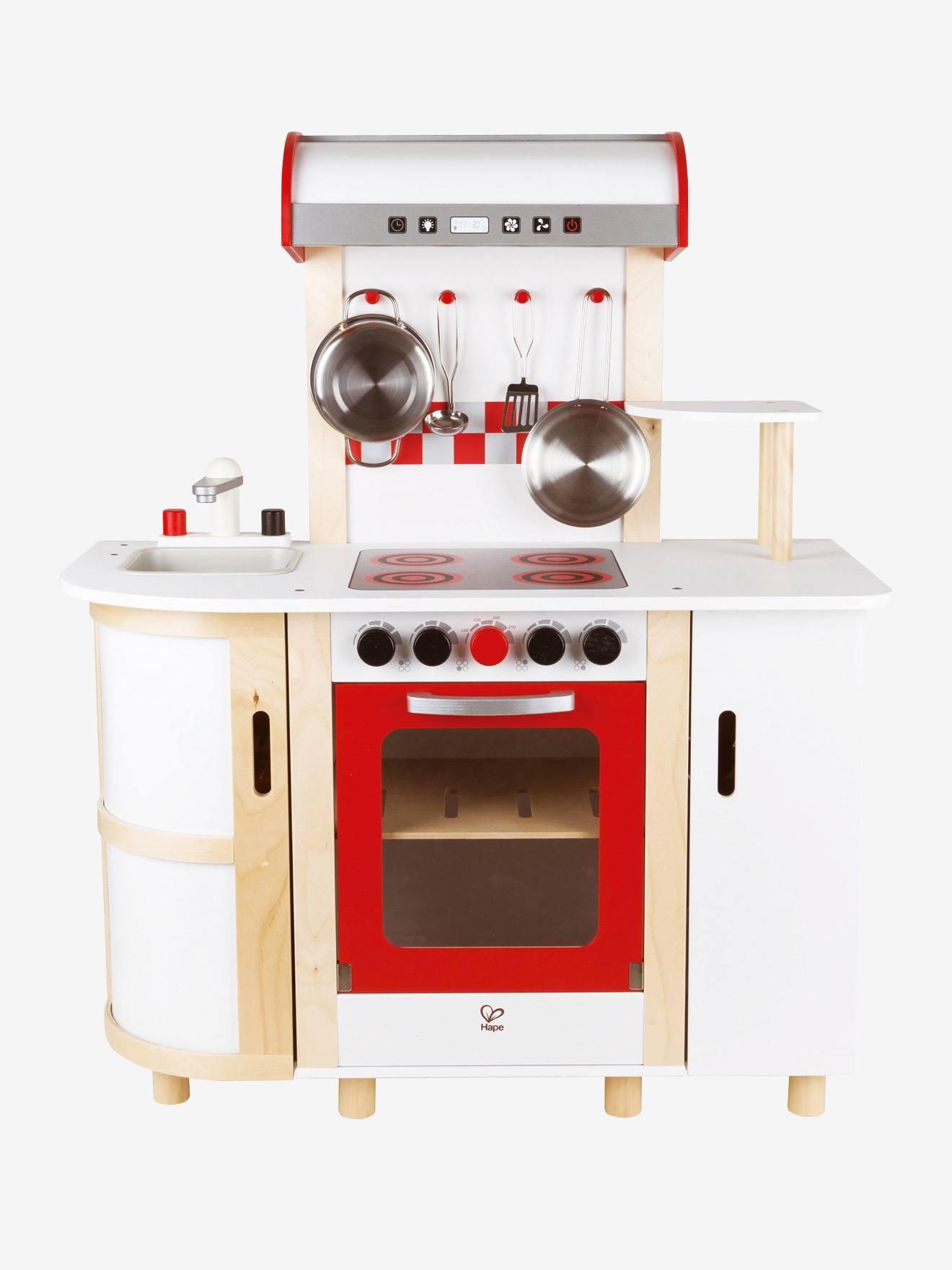 Hape Large Wooden Play Kitchenette, Toys | Vertbaudet