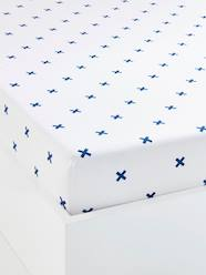 Furniture & Bedding-Child's Bedding-Children's Fitted Sheet, Tiny Pirate Theme