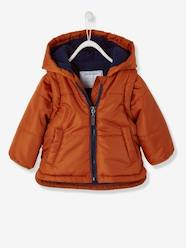 Baby Boys' Padded Jacket with Detachable Sleeves