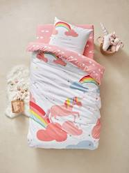 Furniture & Bedding-Children's Duvet Cover & Pillowcase Set, Unicorn Theme