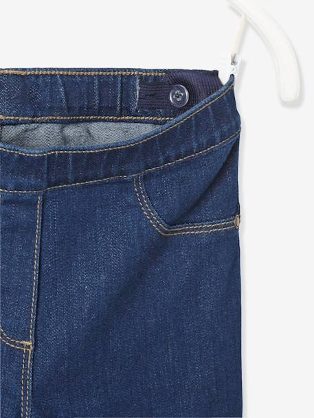 Girls' Denim Treggings Untreated