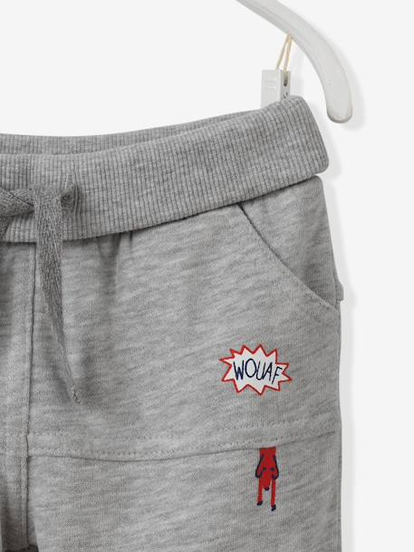 Baby Boys' Fleece Trousers BLUE LIGHT SOLID+GREY MEDIUM MIXED COLOR