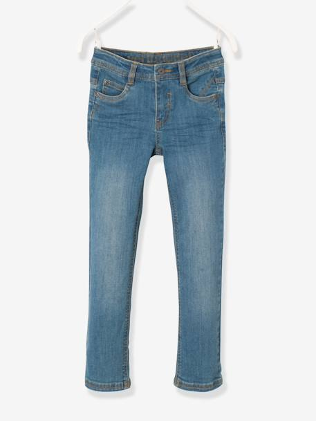 MEDIUM Fit- Boys' Slim Cut Jeans BLUE DARK SOLID+BLUE DARK WASCHED+GREY MEDIUM WASCHED