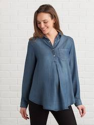 DENIMCOLLECTION-Maternity-Lyocell Maternity Shirt