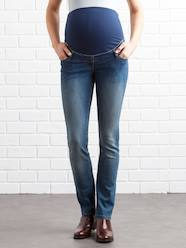 Maternity-Jeans-Regular Maternity Straight Jeans - Inside Leg 30""