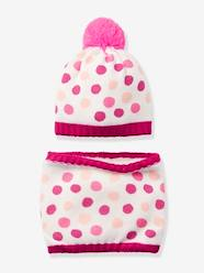 Girls-Accessories-Girls' Ski Beanie & Snood Set