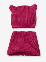CAT LOVERS SHOP-Girls-Girls' Stylish Beanie & Snood